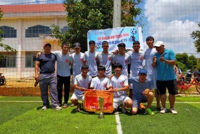Giải bóng đá Mini truyền thống trường THPT Nguyễn Văn Cừ năm học 2019-2020