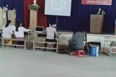 """Trường THPT Nguyễn Văn Cừ tổ chức chương trình """"Sân chơi học tập"""" lần 1"""